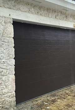 Wooden Garage Door Installation In Bluffdale